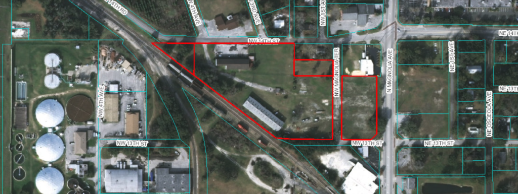 Sold! 5.15 Acres, Industrial Warehouses