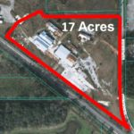 16+ acres with rail
