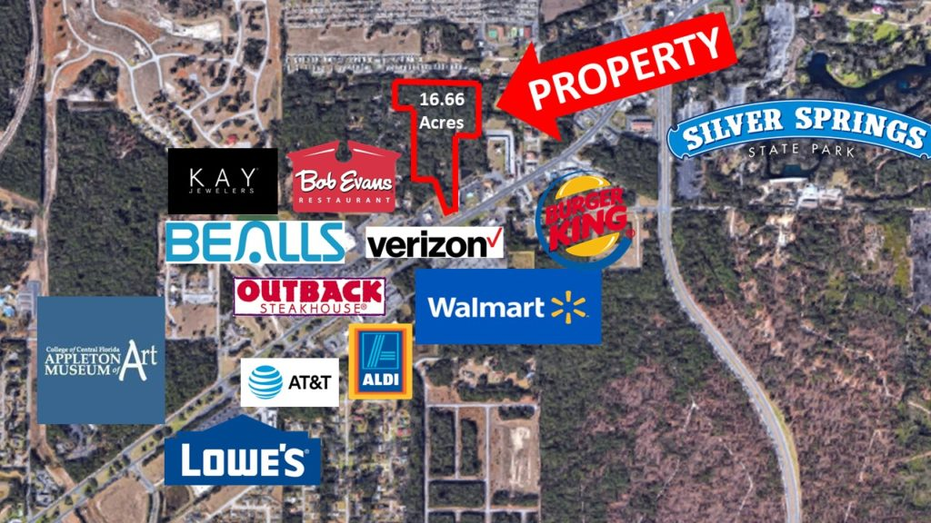 16 Acres of Commercial Vacant Land for Sale in Ocala, FL